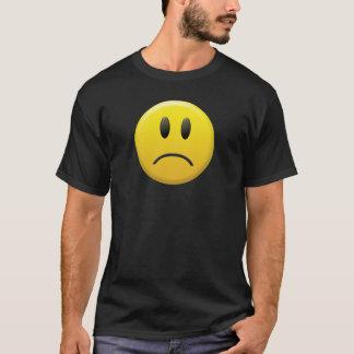 T-shirt Visage souriant triste