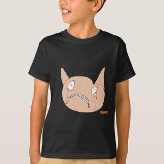 T-shirt Visage triste