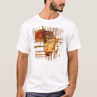 T-shirt Visages d'art tribal ethnique africain Afrique T