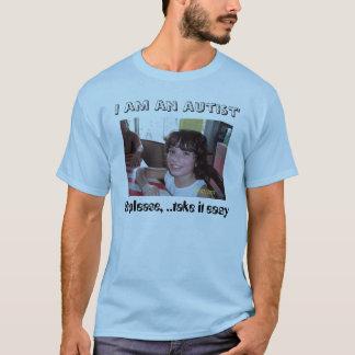T-shirt Visages d'autisme