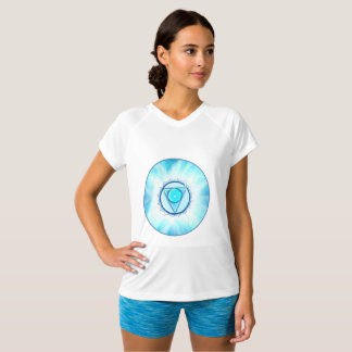 T-shirt Vishuda. Chakra de la communication