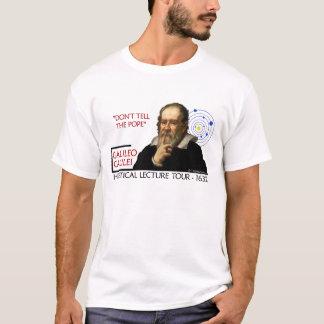 T-shirt Visite de conférence hérétique de Galilée (la