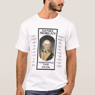 T-shirt Visite de l'indépendance de Danial Morgan
