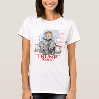 T-shirt Visite d'éléphant de GOP d'atout