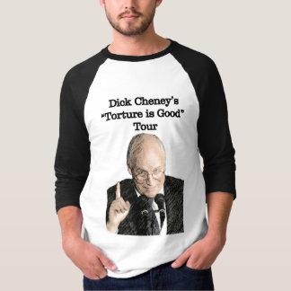 T-shirt Visite T de torture de Dick Cheney