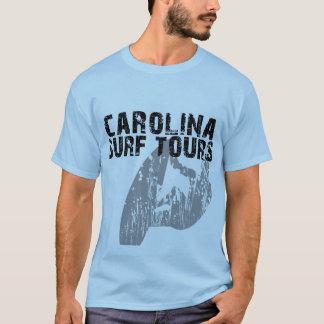 T-shirt Visites de surf de la Caroline