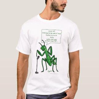 T-shirt Visiteur de mante de prière de danse carrée