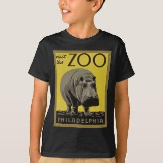 T-shirt Visitez le zoo de Philadelphie