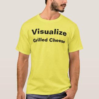 T-shirt Visualisez le fromage grillé