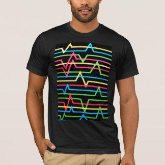 T-shirt visuel de danse de juge de filles ou de