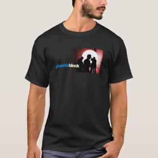 T-shirt visuel noir