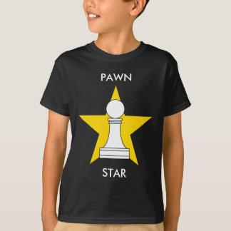 T-shirt Vitesse de joueur d'échecs d'étoile de gage