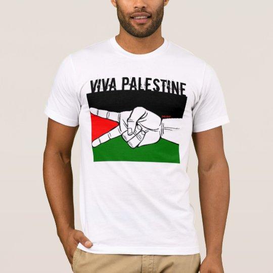 T-shirt viva palestinne