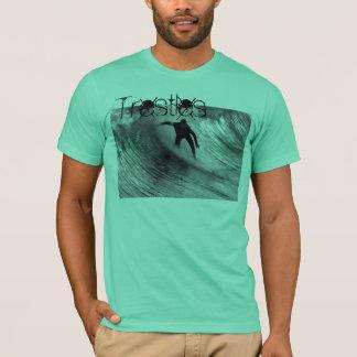 T-shirt Vivant, amour, surf, chevalets