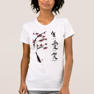 T-shirt vivant de rire d'amour