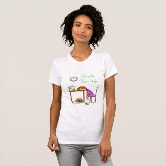 T-shirt Vivant la chemise de conscience de la maladie de