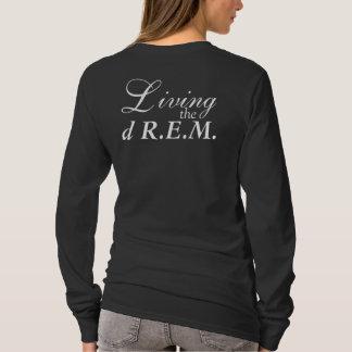 T-shirt Vivant la longue douille T de dR.E.M