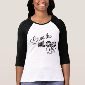 T-shirt Vivant la vie de blog !  Chemise de Blogger