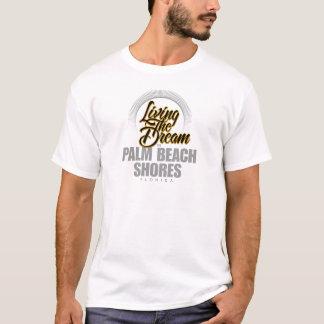 T-shirt Vivant le rêve dans des rivages de Palm Beach