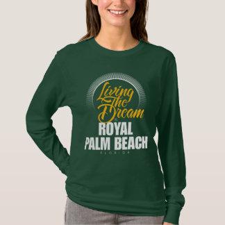 T-shirt Vivant le rêve dans le Palm Beach royal