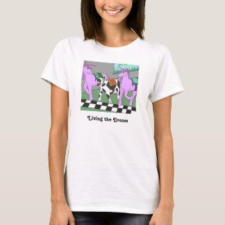 T-shirt Vivant le rêve ; l'Unicow