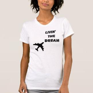 T-shirt Vivant le rêve T