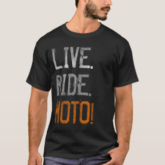 T-shirt Vivant. Tour. Moto ! (cru)