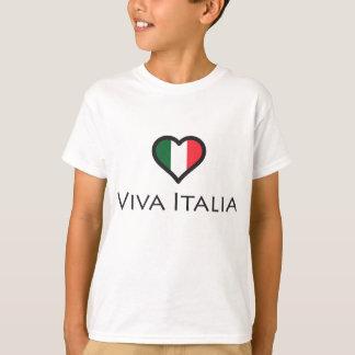 T-shirt Vivats Italie - fierté italienne