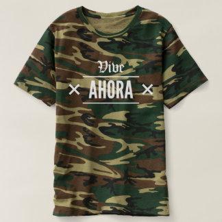 T-shirt Vive Ahora - VA Camo