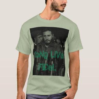 """T-shirt """"Vivent longtemps Fidel"""" (le T-shirt)"""