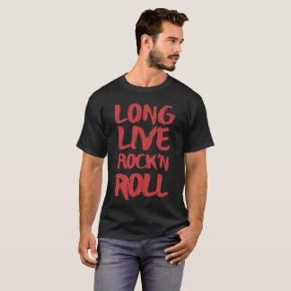 T-shirt Vivent longtemps le rock