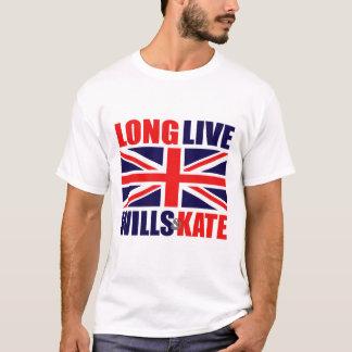 T-shirt Vivent longtemps les volontés et le Kate
