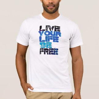 T-shirt Vivent notre pièce en t de la vie