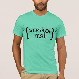T-shirt vocal du repos IPA