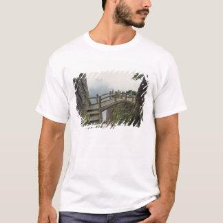 T-shirt Voie et petit pont, montagne jaune, 2