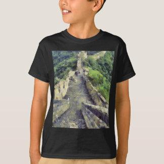 T-shirt Voie sur la Grande Muraille de la Chine