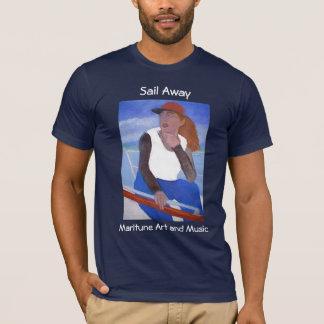 T-shirt Voile loin