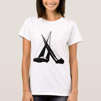 T-shirt Voiliers - pointes de croisement