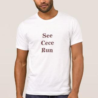 T-shirt Voir le Cece courir la nouvelle fille
