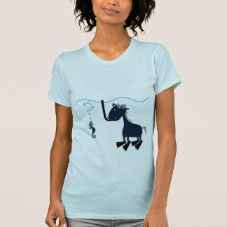 T-shirt Voir le cheval ?