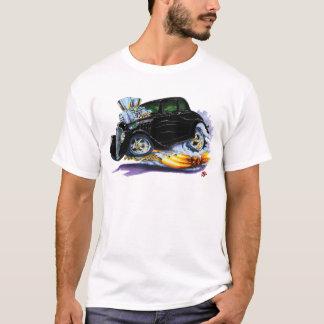T-shirt Voiture 1933-36 noire de Willys