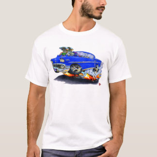 T-shirt Voiture 1958 de bleu d'impala