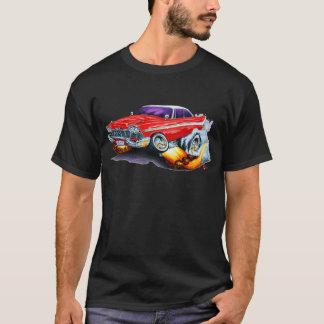 T-shirt Voiture 1958 de rouge de fureur de Plymouth