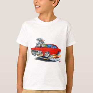 T-shirt Voiture 1966 de rouge de Chevelle