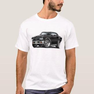 T-shirt Voiture 1966 noire de Chevelle