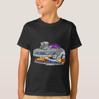 T-shirt Voiture 1970 de gris de Monte Carlo