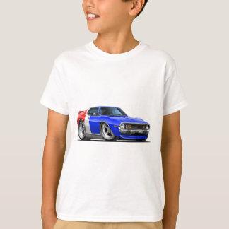 T-shirt Voiture 1971-72 bleue blanche rouge de javelot