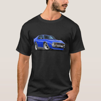 T-shirt Voiture 1971-72 de bleu de javelot