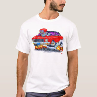 T-shirt Voiture 1971 de rouge de Monte Carlo