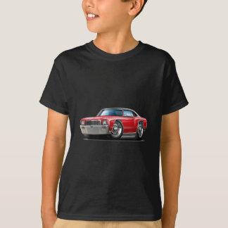 T-shirt Voiture 1971 supérieure Rouge-Noire de Monte Carlo